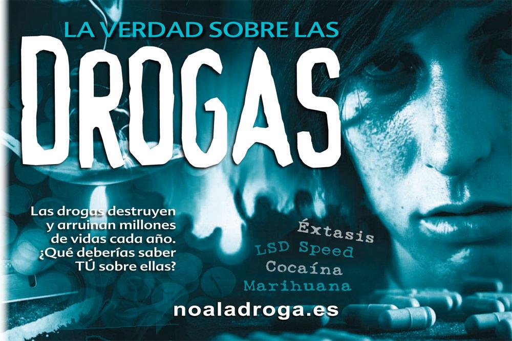Folleto la Verdad sobre las Drogas Valencia sin Drogas