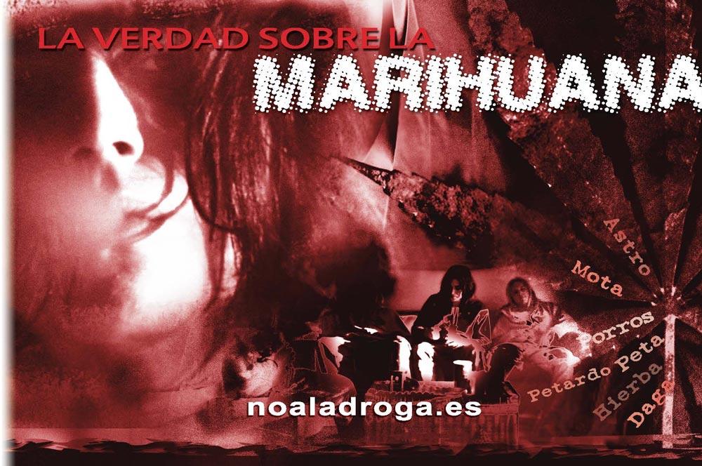 Folleto la Verdad sobre la marihuana Valencia sin Drogas
